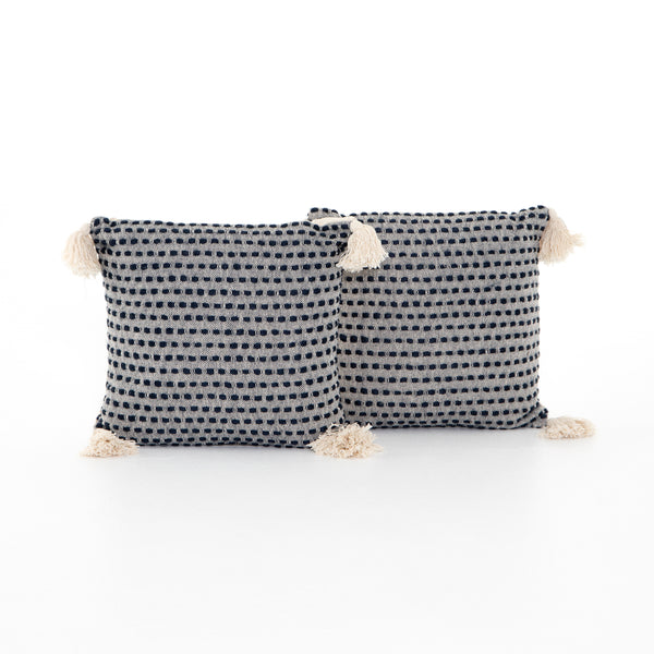 Briella Pillow - Navy/Blue