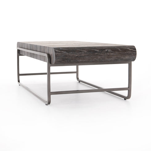 Sled Coffee Table - Drifted Brown