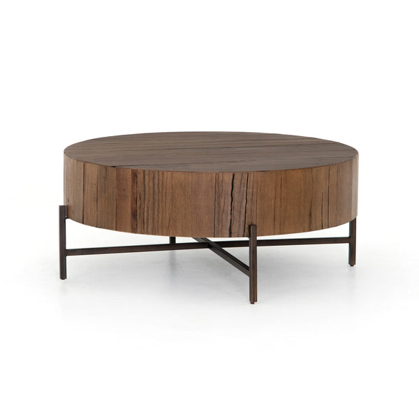TINSLEY COFFEE TABLE - NATURAL BROWN