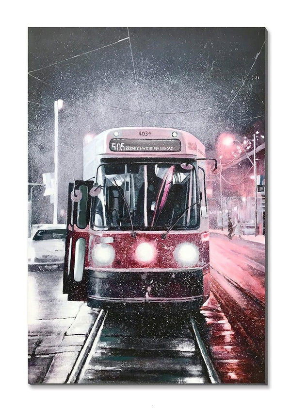 Street Car Art - 50% Hand Painted
