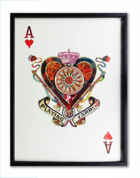 Playing Card Ace of Hearts