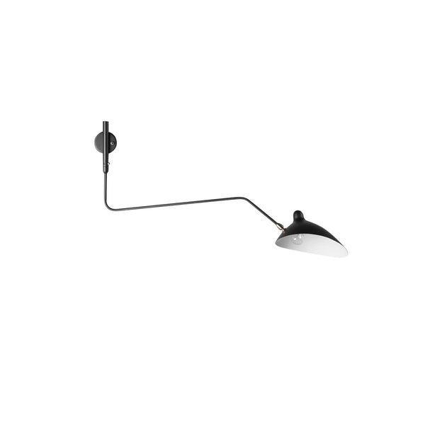 Serge Mouille One-Arm Sconce Lamp (Reproduction)