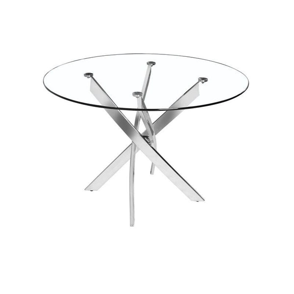 Glass Star Table - Round