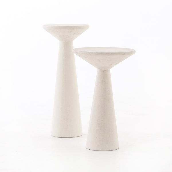 Ravine Concrete Accent Tables Set of 2