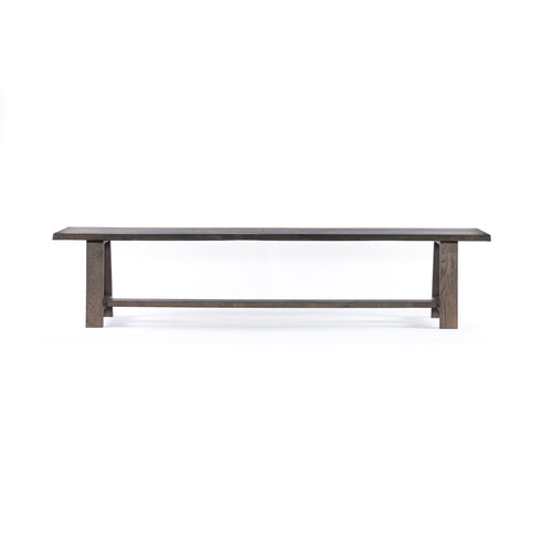 GLOVER DINING BENCH - ESPRESSO OAK