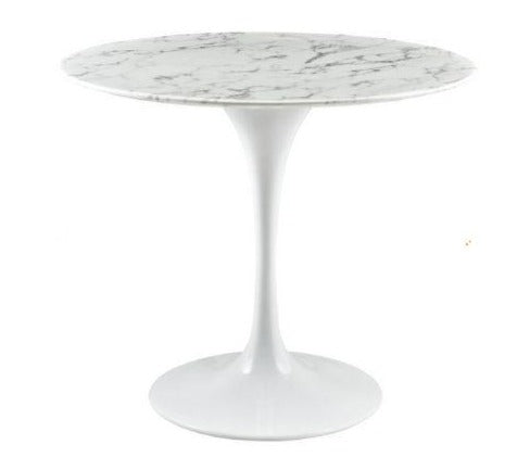 Leo Faux Marble Dining Table