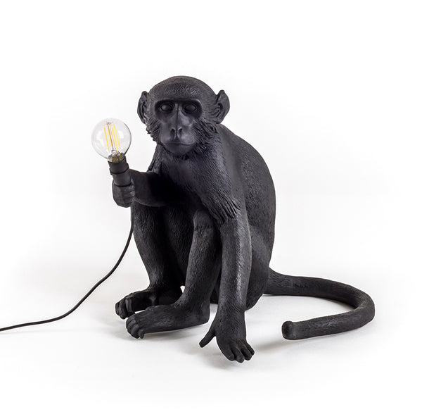 Monkey Sitting Table Lamp