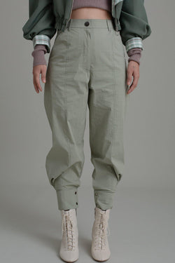SAGE BARREL LEG PANTS