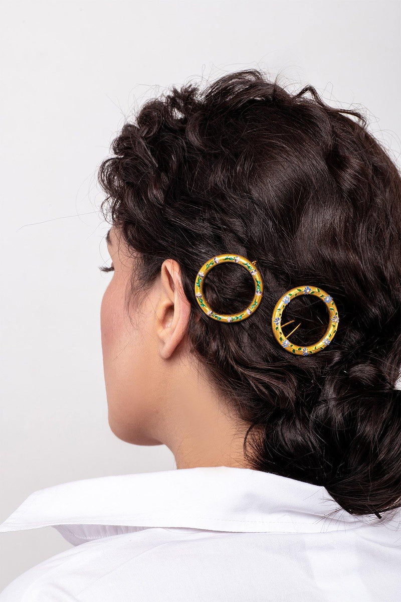 Large Hoop Hairpin