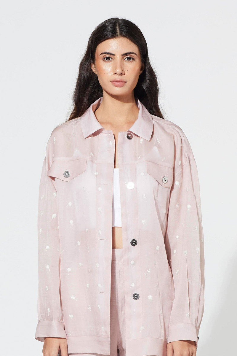 Violet Ice Meadow Jacket