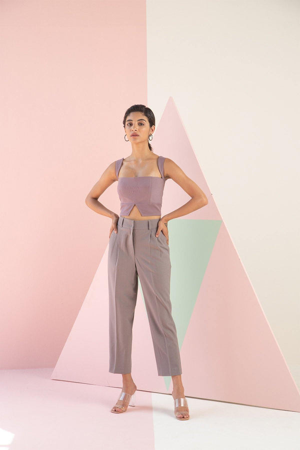 LILAC STRAIGHT PANTS