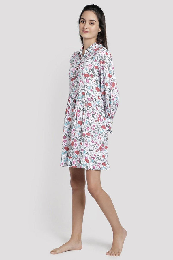 Ditsy Morning Modal Lounge Dress
