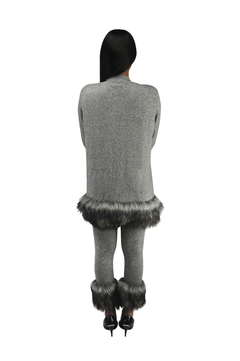 Vixen Cardigan - Grey