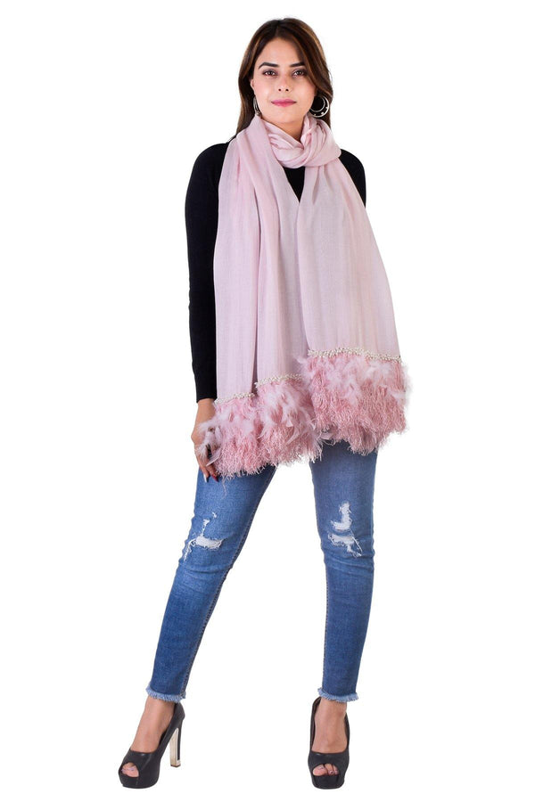 Freesia Pink Stole