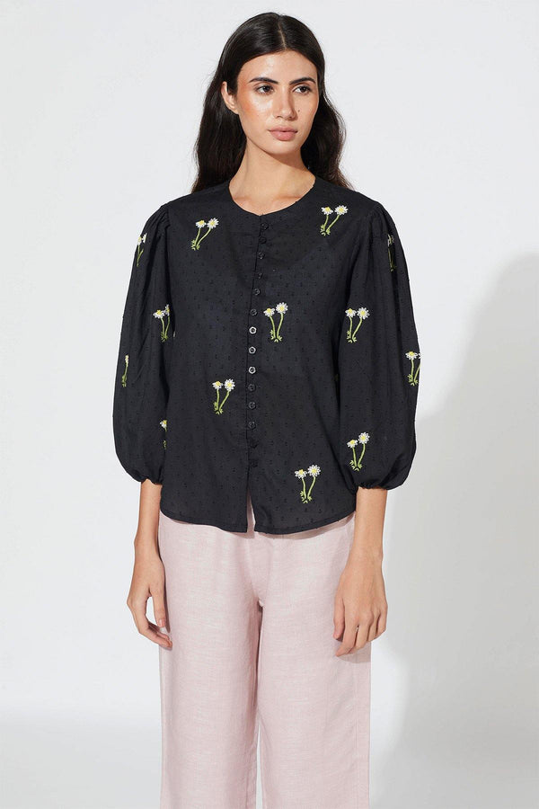 Night Garden Blouse
