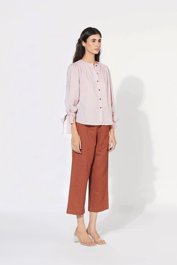 Violet Ice Cotton Blouse