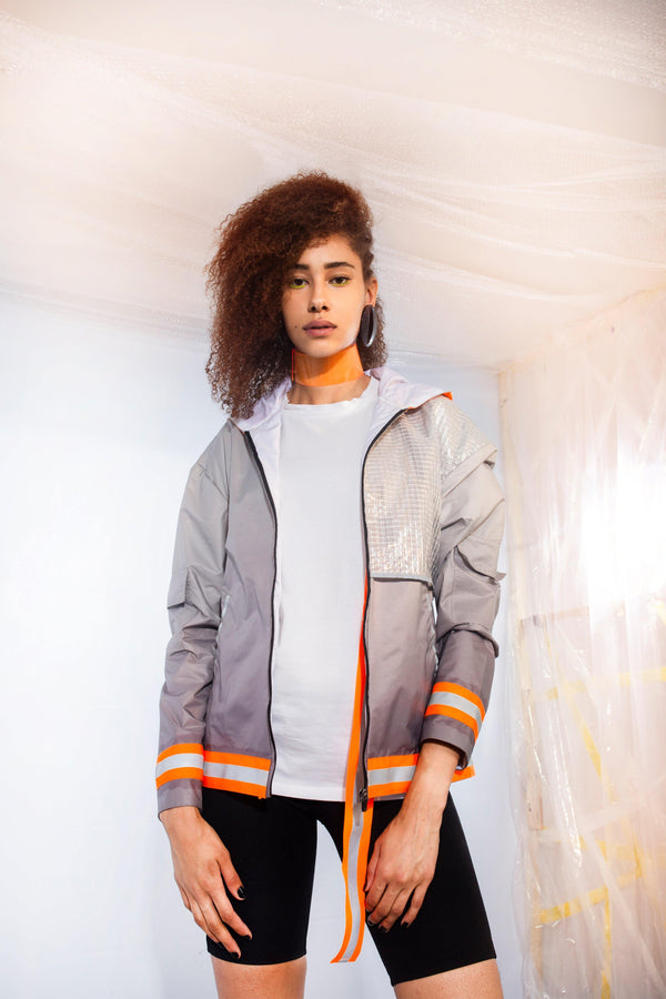Unisex Contemp Overhood Jacket