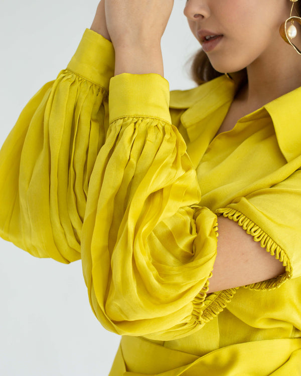 Rosa Blouse Yellow Gold