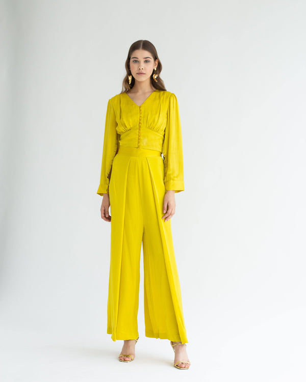 Rosa Co-ord Yellow Gold