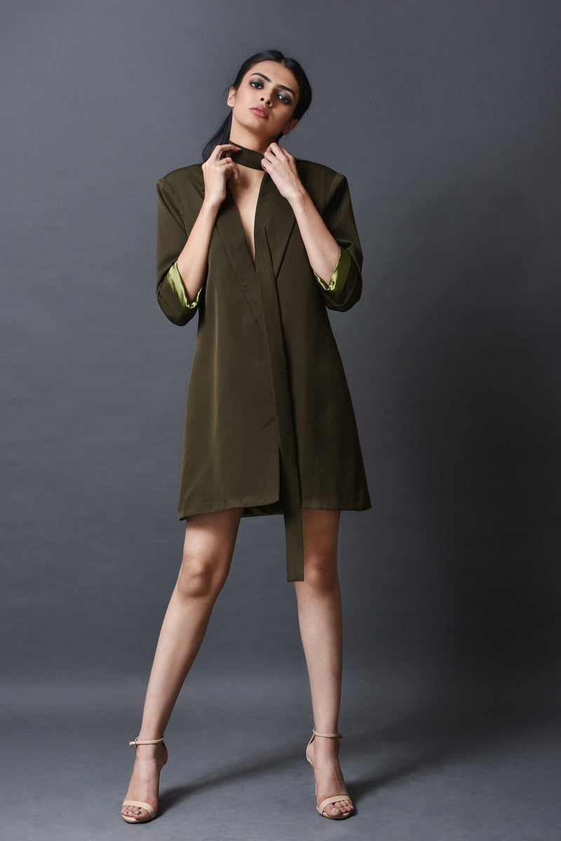 Power Blazer Dress
