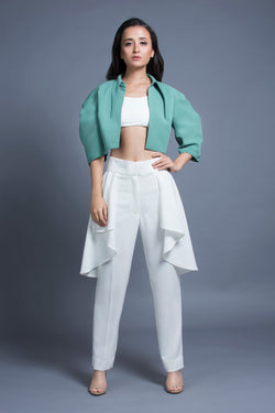 Menthe Jacket and Cremeux Pants Set