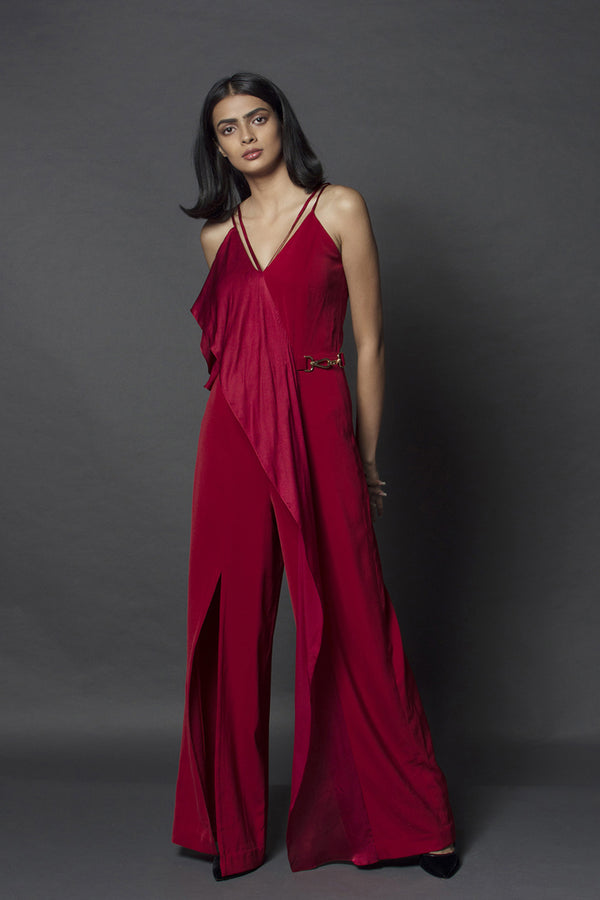 Crimson Jumpsuit