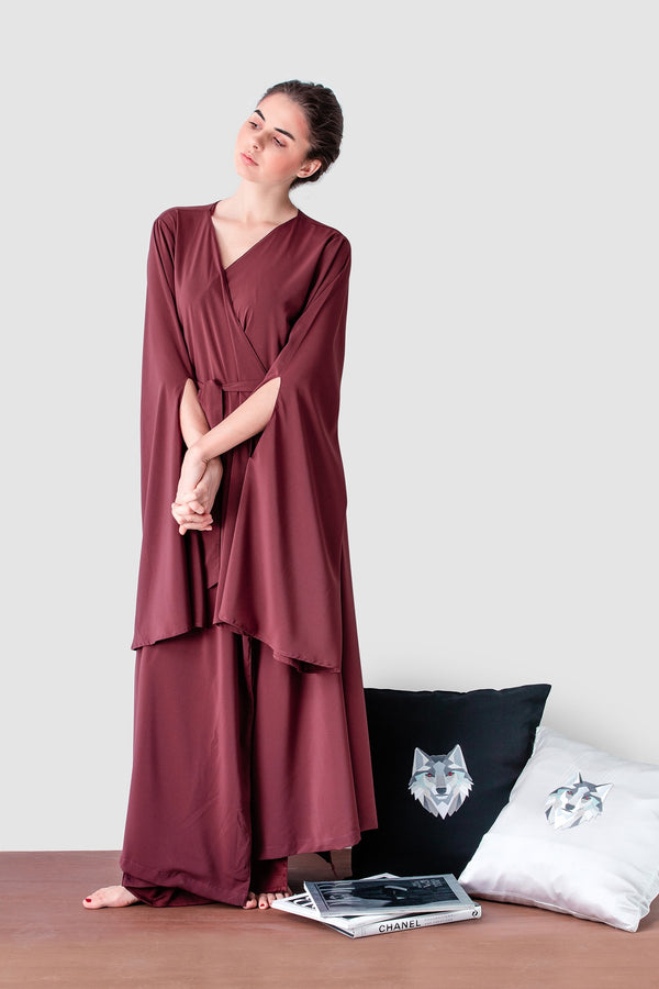 Leon Lounging Gown