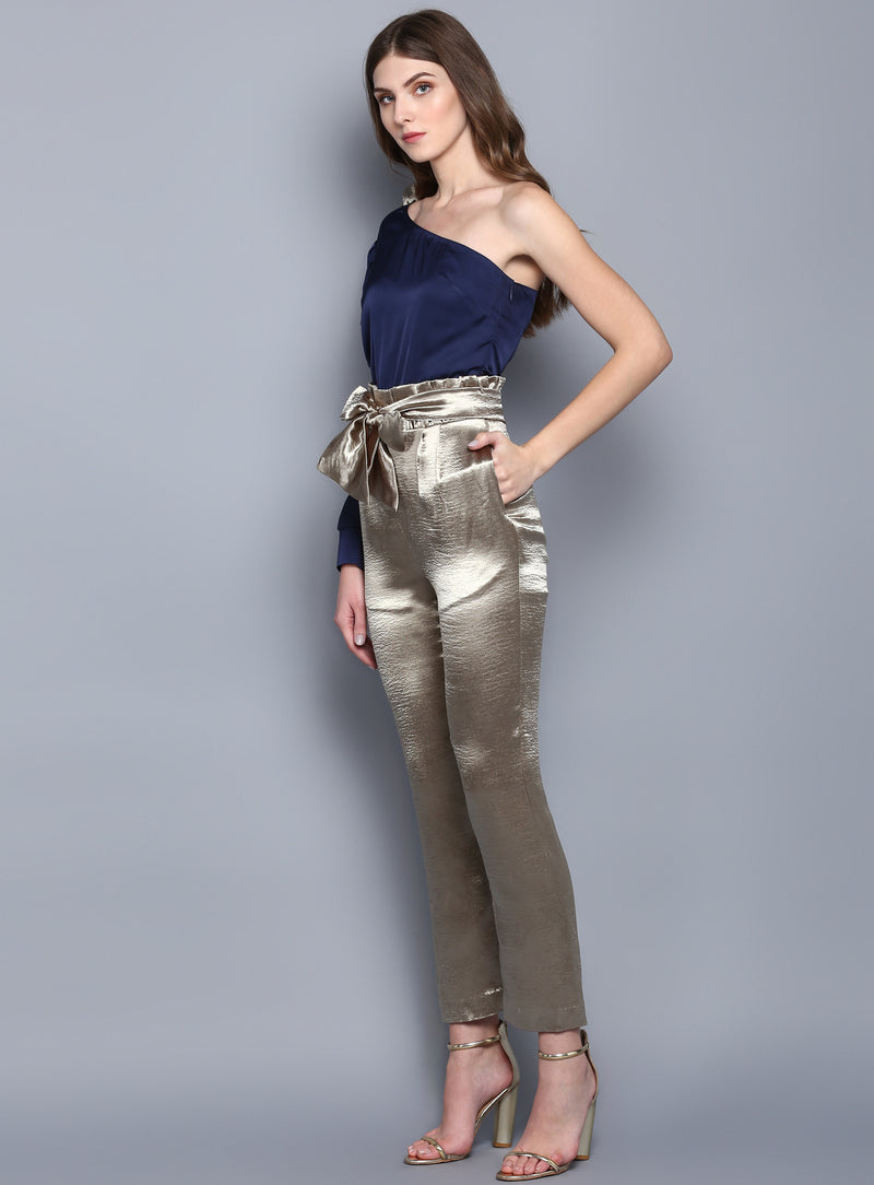 Impish Satin Top