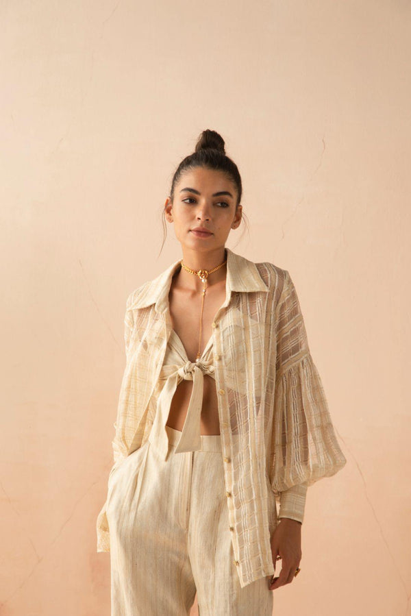 AMALFI SHEER SHIRT