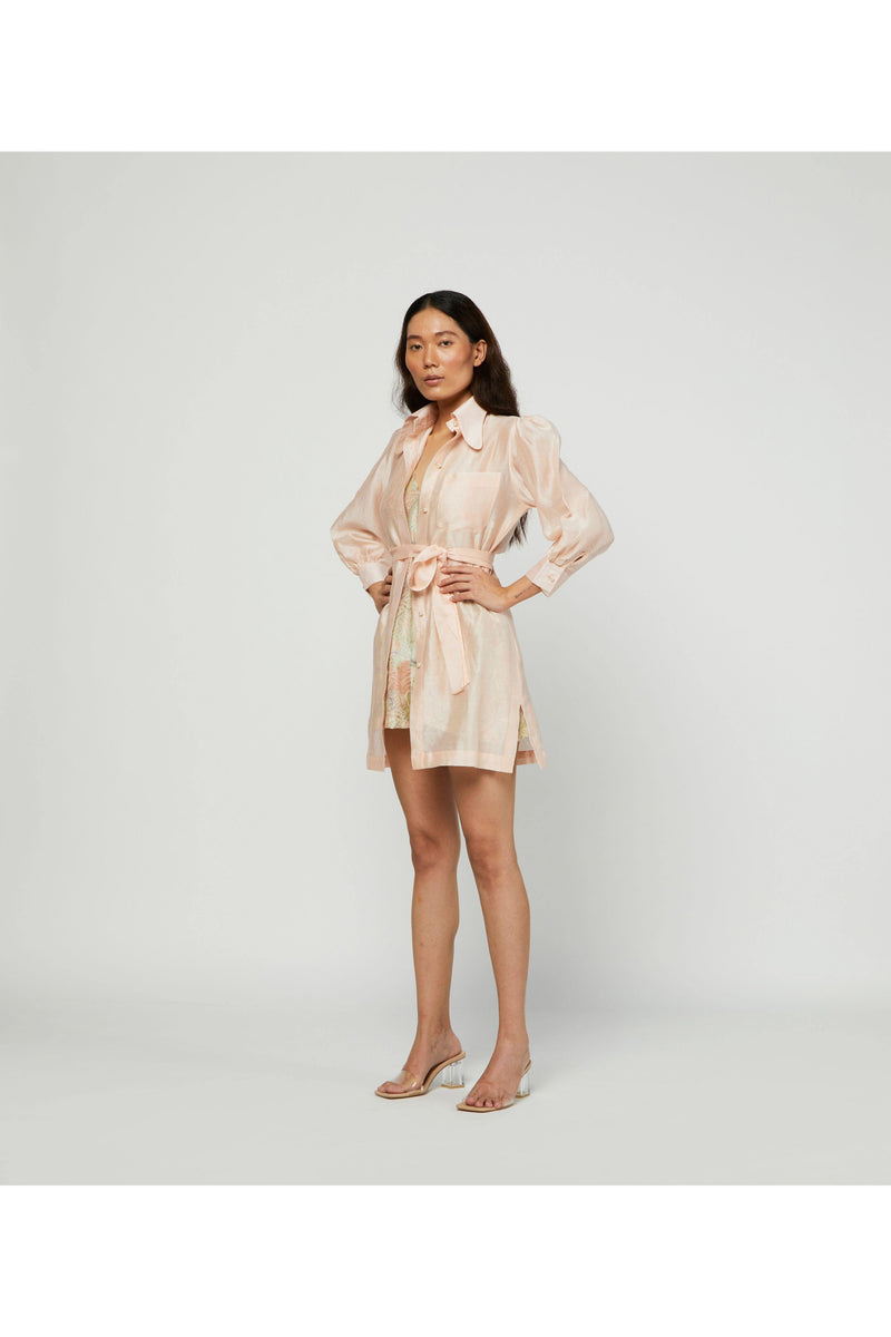 Sunkiss Coat Dress With Terra Slip dress