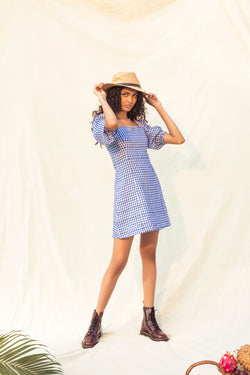 Elanor Puff Sleeve Dress
