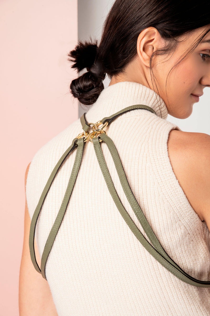 Timeless: Multipurpose body belt - Olive