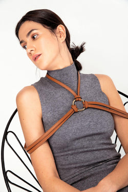 Timeless: Multipurpose body belt - Tan