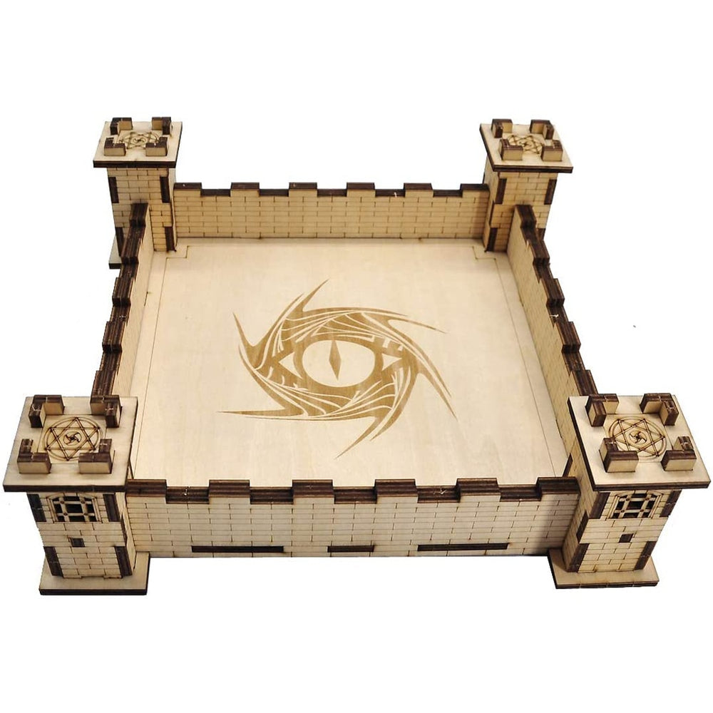Battlement Rolling Tray