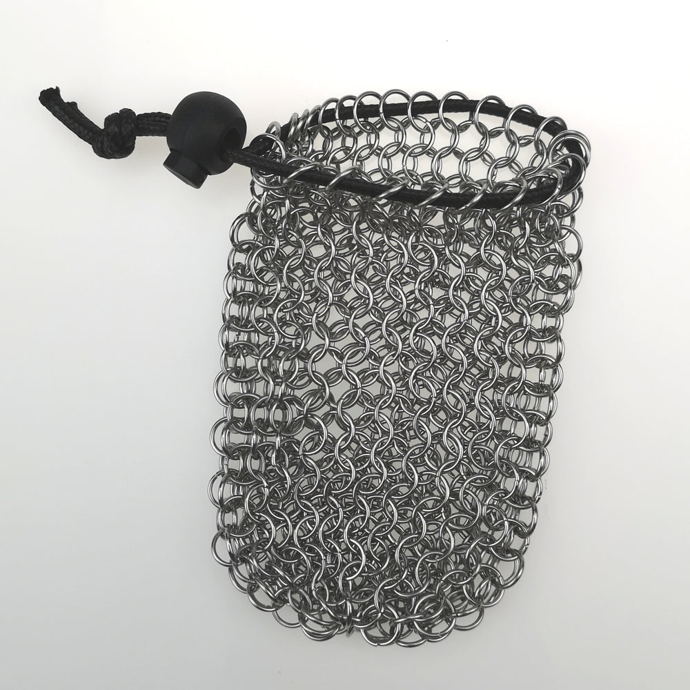Handmade Chainmail Dice Bag