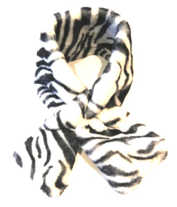 Zebra neck wrap