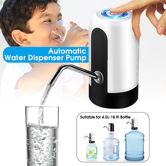 Electric Water Dispenser Pump - USB Charging Automatic Portable Water Bottle Pump - MyEChest.com