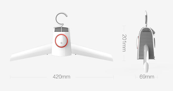 Xiaomi Smartfrog Portable Electric Clothes and Shoes Dryer - MyEChest.com