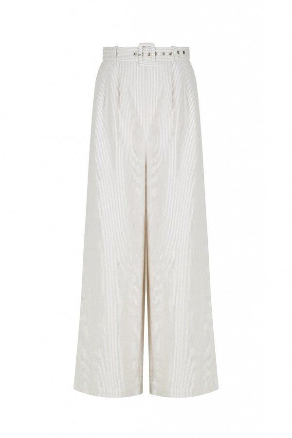 Lorenzo Pant Natural Stripe