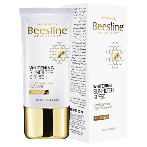 BEESLINE WHITENING SUN FILTER SPF50 60ML