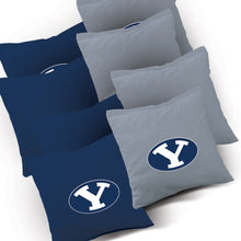Load image into Gallery viewer, BYU Jersey team logo corn hole bags