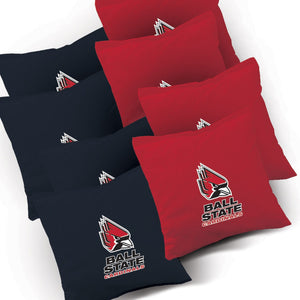 Ball State Cardinals Stained Pyramid team logo bags