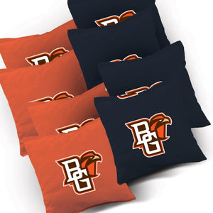 Bowling Green Falcons Jersey team logo corn hole bags