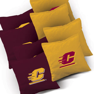 Central Michigan Chippewas Distressed team logo bags