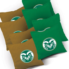 Load image into Gallery viewer, Colorado State Stained Striped team logo bags
