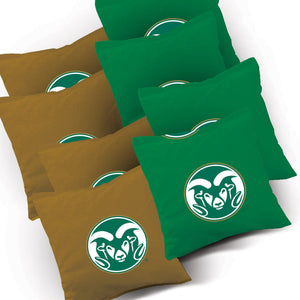 Colorado State Stained Striped team logo bags