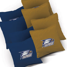 Load image into Gallery viewer, Georgia Southern Stained Striped team logo bags