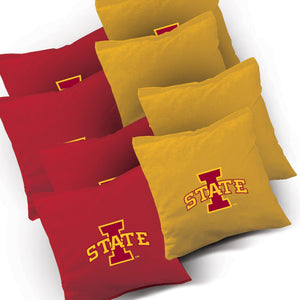 Iowa State Cyclones Stained Pyramid team logo bags