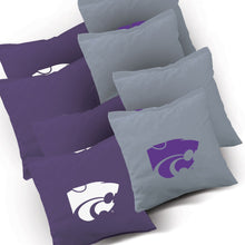 Load image into Gallery viewer, Kansas State WIldcats Smoke team logo corn hole bags