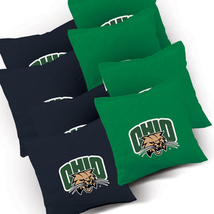Ohio Slanted team logo corn hole bags